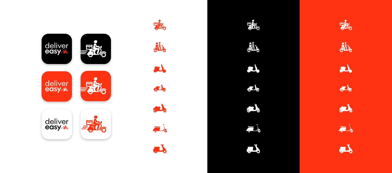 Delivereasy scooter logo