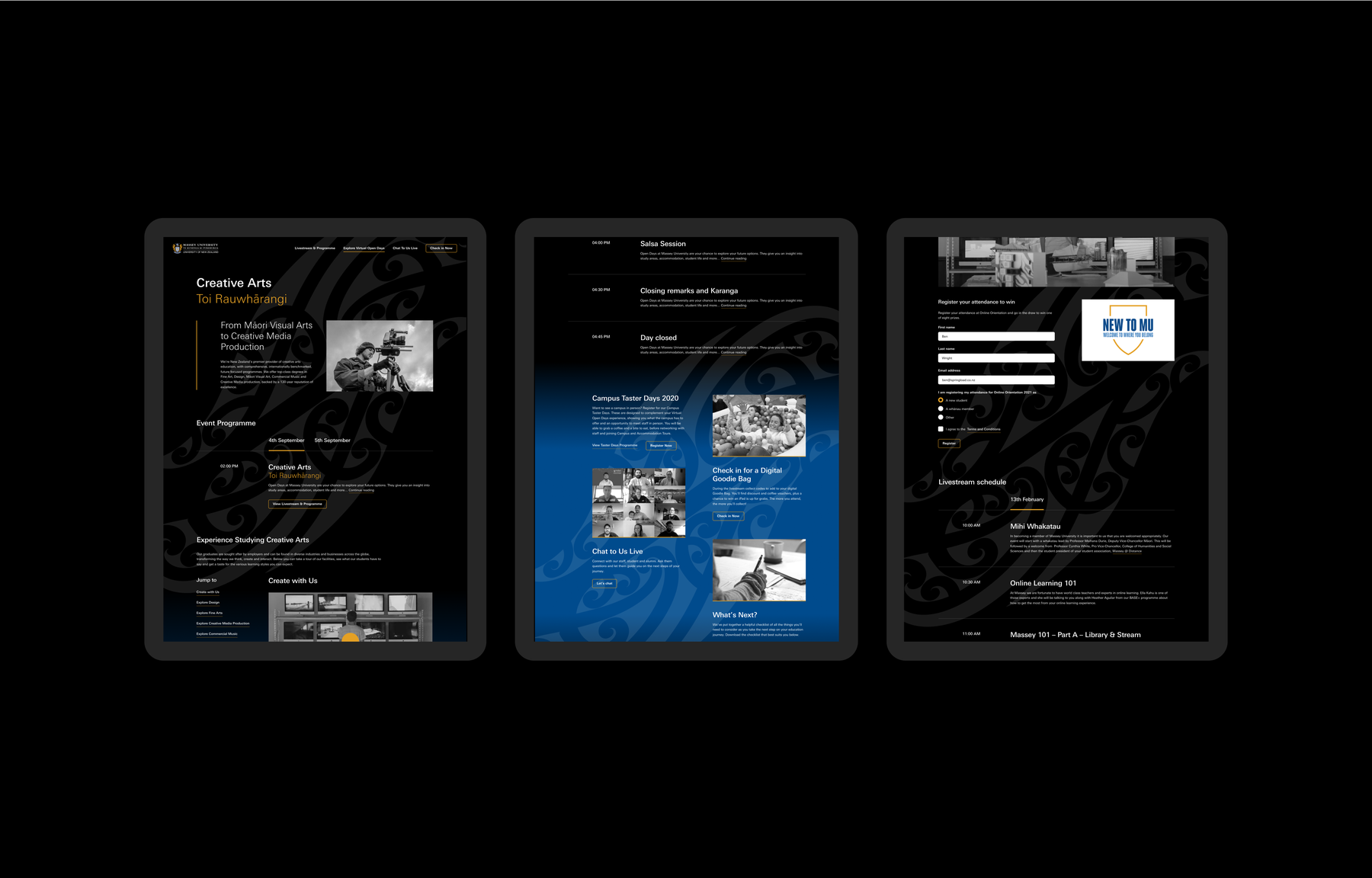 Massey Open Days tablet.png