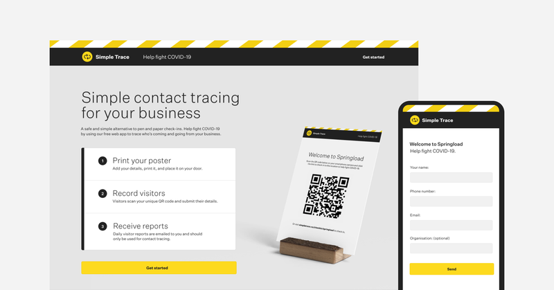 Simple Trace: a contact tracing app to help Kiwis get back to business